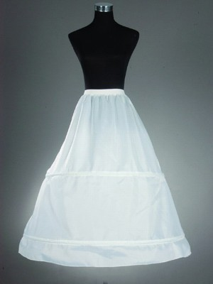 New A-Line/Princess Nylon 1 Tier Wedding Petticoat