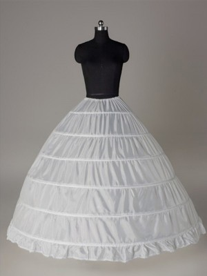 New Ball-Gown Nylon 1 Tier Wedding Petticoat