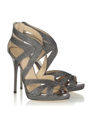 New Peep Toe Stiletto Heel Sandals Shoes