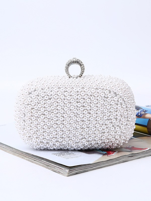 Trending Pearl Evening/Party Handbags