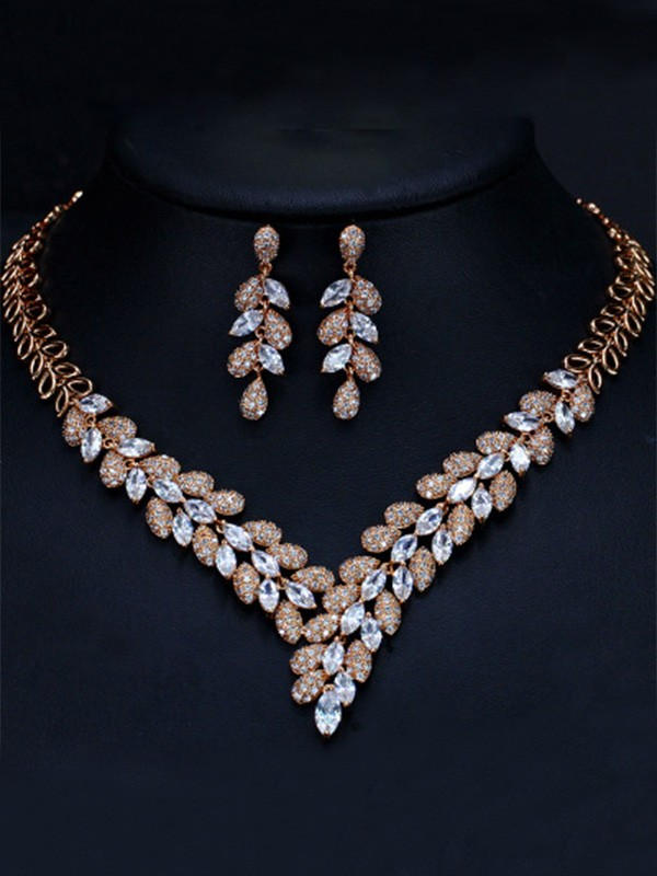 Artificial Gem Jewelry Set