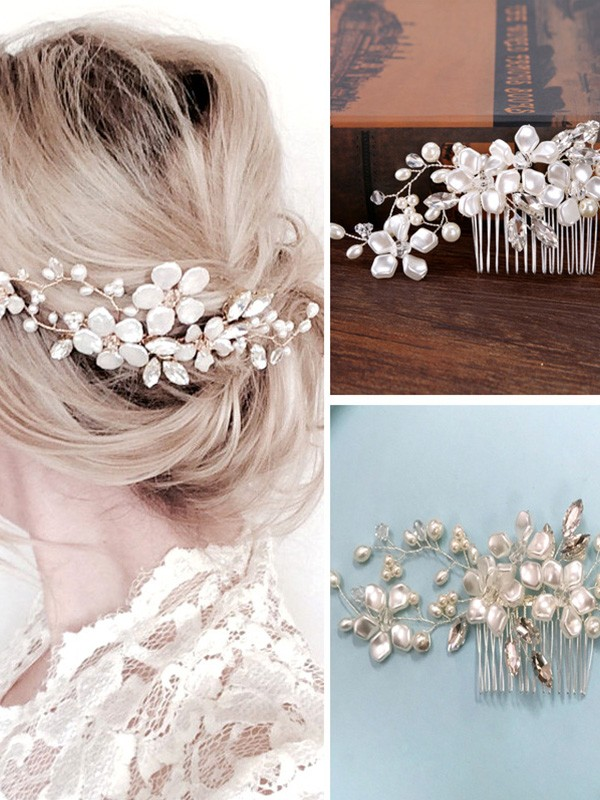 Nice Czech Pearl Headpieces