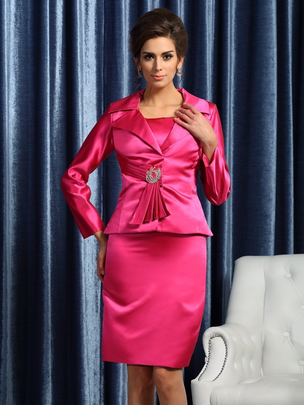 New Satin Long Sleeves Special Occasion Wrap