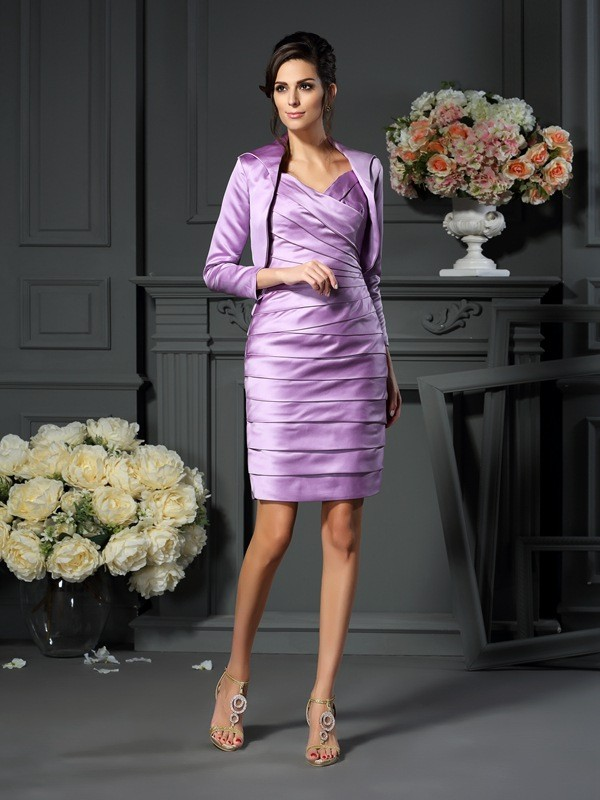 New Satin 3/4 Sleeves Special Occasion Wrap