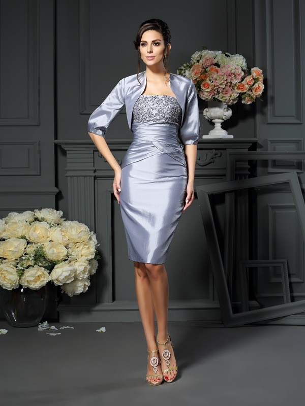New Taffeta 1/2 Sleeves Special Occasion Wrap