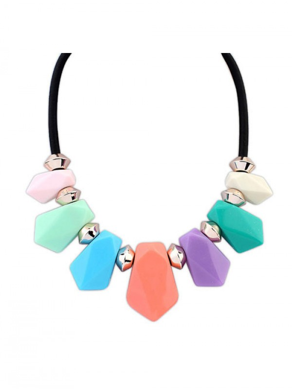 New Street shooting all-match Geometry Temperament Necklace