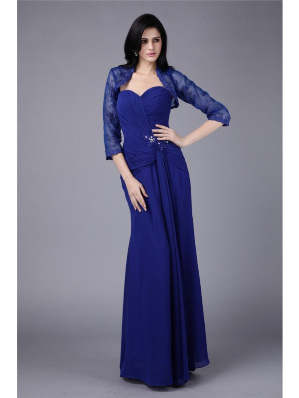 Sheath/Column Sweetheart Chiffon Mother of the Bride Dress