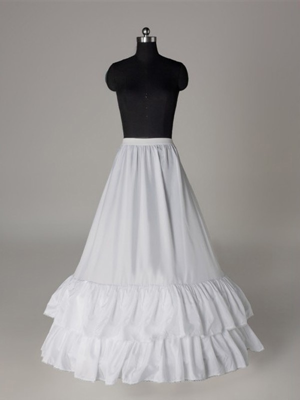 New Nylon A-Line/Princess 1 Tier Wedding Petticoat