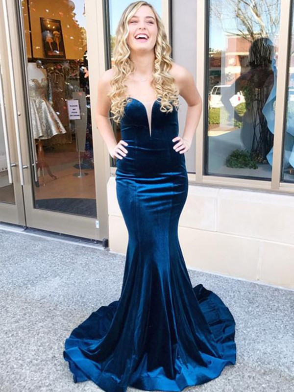 Mermaid Sweetheart Long Dress