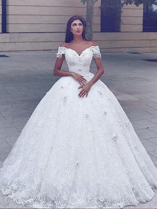 Mermaid Lace Long Straps Wedding Dress