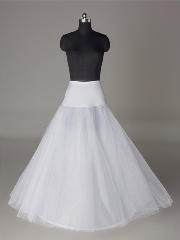 New Tulle Netting A-Line/Princess 2 Tier Wedding Petticoat