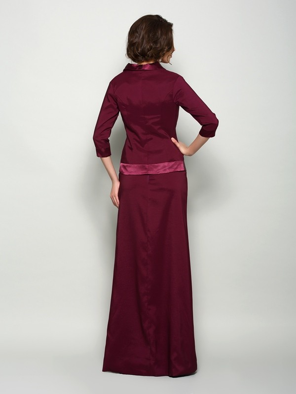 New Elastic Woven Satin 3/4 Sleeves Special Occasion Wrap