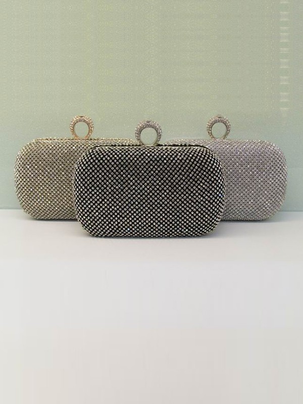 New Rhinestones Evening Handbag