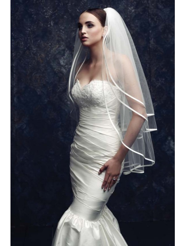 New 3 Layer Tulle Wedding Veil