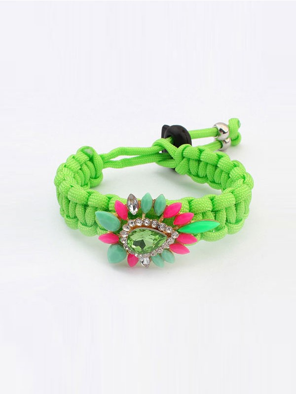 New Ethnic Customs Woven Colorful Bracelet