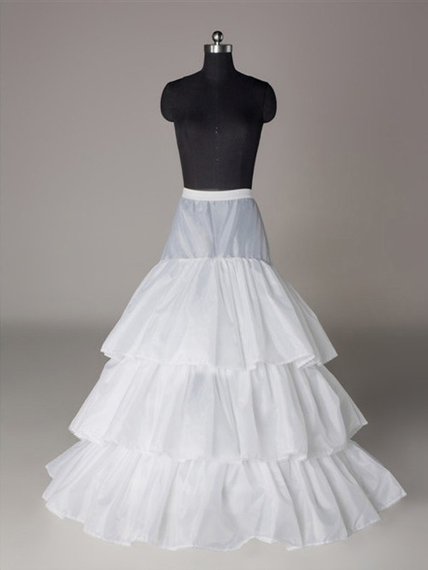 New A-Line/Princess Nylon 3 Tier Wedding Petticoat