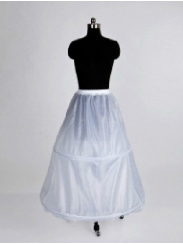 New Nylon Long Wedding Petticoat
