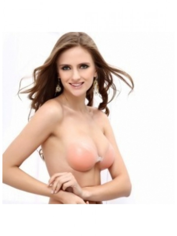 New Silicone 3/4 Cup Strapless Invisible Bra