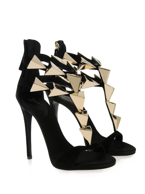 New Stiletto Heel Suede Peep Toe Platform Buckle Sandals Shoes
