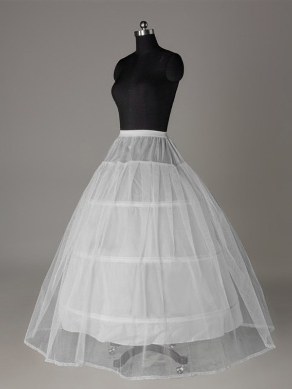 New Tulle Netting Ball-Gown 2 Tier Wedding Petticoat